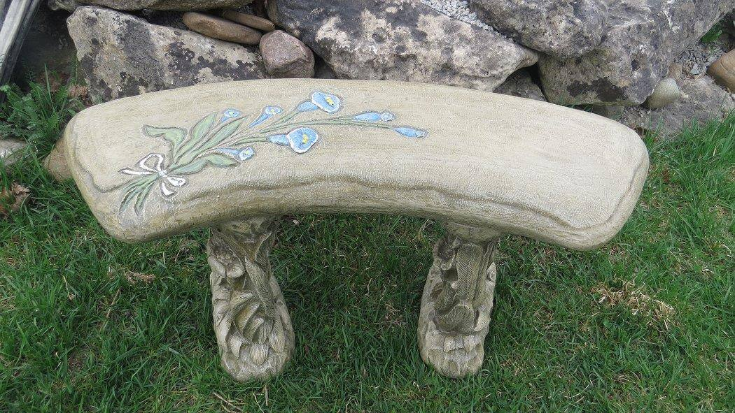 Child's flower bench #8111.3