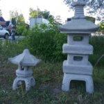 """Small Pagoda 14""""#9230 & Double Pagoda 39"""" #9220A"""